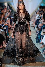 robe mariã e haute couture défilé elie saab haute couture automne hiver 2017 2018 robe
