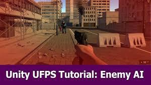 unity tutorial enemy ai unity fps tutorial enemy ai c script for ufps unity3d tutorials