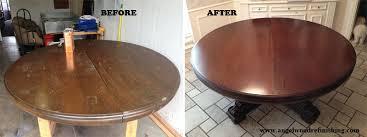Refinishing Wood Dining Table Richardson Furniture Refinishing Richardson Furniture Repair