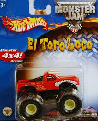 monster truck show boston amazon com 2001 wheels monster jam el toro loco monster