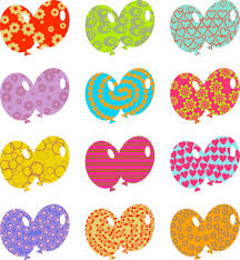 patterned balloons free stock photo public domain pictures