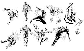 spider man 2099 sketches bleeding cool news and rumors
