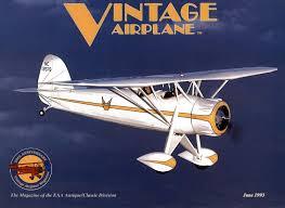 va vol 21 no 6 june 1993 by eaa vintage aircraft association issuu