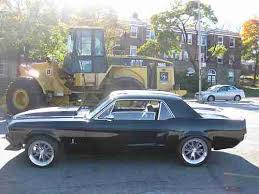 Black 67 Mustang Coupe Buy Used 1967 Ford Mustang Coupe Pro Touring Resto Mod 7 500