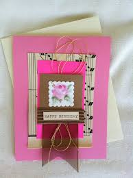 fabulous handmade birthday cards for someone really special