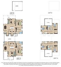 Multiplex Floor Plans by Floor Plans U0026 Features The Mockingbird Austin Tx