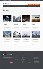 Industrial Theme by Wp Industry Industrial U0026 Engineering Wp Theme By Dannci
