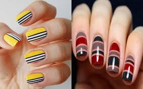 10 easy nail designs you can do with scotch tape