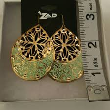 zad earrings 71 zad jewelry zad earrings from desha s closet on poshmark