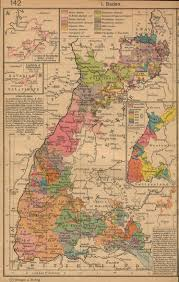 Map Of East And West Germany by