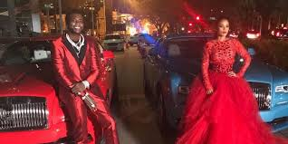 his and wedding gifts gucci mane s wedding gift to keyshia ka ior is luxury car that