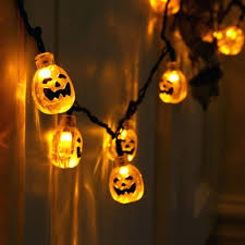 led halloween lights wall of string lights pumpkin string lights for halloween solar
