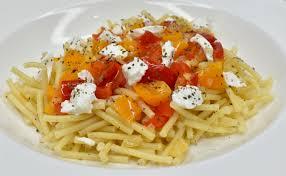 bon plat a cuisiner macaroni aux poivrons et fromage de chèvre soubryrestos cheap o