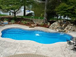 Backyard Landscaping With Pool by Triyae Com U003d Backyard Designs With Inground Pools Various Design
