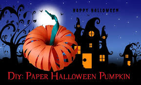 new amazing paper halloween pumpkin youtube