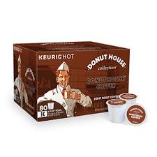 light roast k cups donut house light roast coffee 80 k cups sam s club