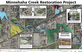 Map Of St Louis Area Construction Begins On Minnehaha Creek Restoration In St Louis