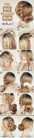 diy starburst braided bun hairstyle hair tutorial video