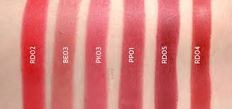 thefaceshop moisture touch lipstick review and swatches the