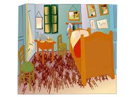 image vincent gogh chambre à arles dessin 27991