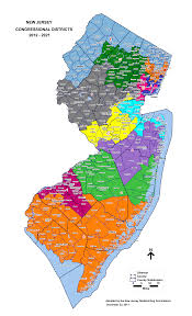 Race Map Post Redistricting Nj Voters Face Unexciting Federal Race Map In