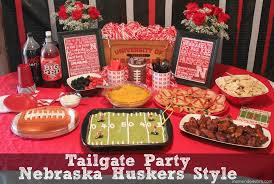 Nebraska Huskers Baby Clothes Football Tailgate Party Nebraska Huskers Style Of Course