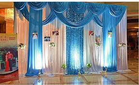 wedding backdrop prices discount blue wedding backdrop wedding drape and curtain wedding