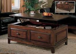 cherry lift top coffee table larchmont lift top table with storage by ashley 425 coffee tables
