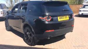 2017 land rover discovery sport trunk land rover discovery sport td4 hse black black 2015 youtube
