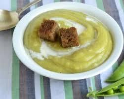 cuisiner le hareng recette de crème légère de pois cassés aux harengs fumés