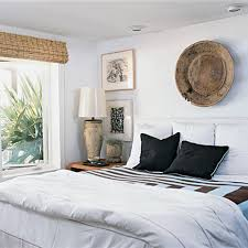 Coastal Living Bedrooms Decorating Bedrooms With White Walls
