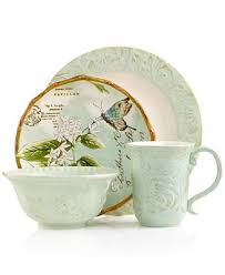 fitz and floyd dinnerware toulouse green collection dinnerware