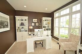 White Cottage Bookcase by Traditional Home Office With High Ceiling U0026 Carpet In Fishers In