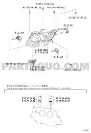lexus rx270 usa headlamp ggl15r awtgkw lexus rx270 350 450h gr lexus