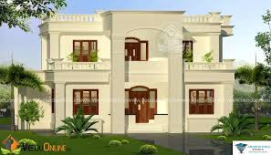 Home Design 2000 Square Feet Square Feet 4 Bhk Double Floor Modern Home Design