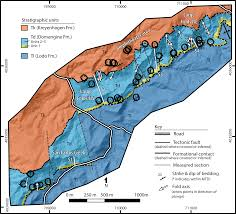 Illinois Mine Subsidence Map by Submarine Mass Failure Within The Deltaic Domengine Formation