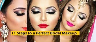 bridal makeup tutorial 11 steps to bridal wedding makeup tutorial