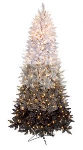 7 5 artificial ombre tree slim size 1 364 pvc black