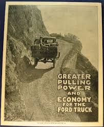 Vintage Ford Truck Forum - model t ford forum ruckstell fold out advertisement pamphlet the