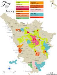 Tuscany Map Kobrand Wine U0026 Spirits