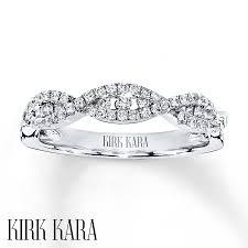 kirk kara wedding band jared kirk kara wedding band 1 3 ct tw diamonds 18k white gold