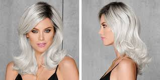 how to blend in grey hair the grey hair trend 12 grey wig styles you ll instantly love