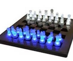 Chess Set Amazon Game Deal Led Glow Chess Set Tabletop Game