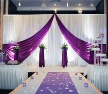 wedding backdrop on stage compare prices on wedding backdrop stage curtains white online