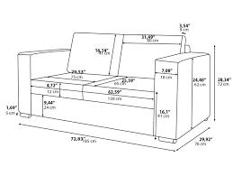Sofa Lengths Standard Sofa Seat Dimensions Memsaheb Net