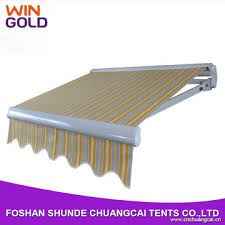 Awning Materials 2016 High Quality Retractable Awning Metal Awning Materials
