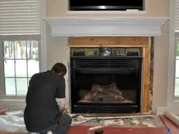How To Reface A Fireplace by How To Tile A Fireplace Tiling Marble Natural Stone Tile
