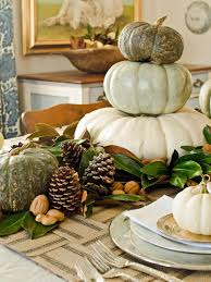 use white pumpkins to decorate your thanksgiving table hgtv s
