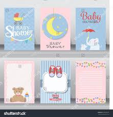 happy birthday baby shower newborn celebration stock vector