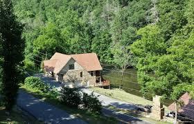 riverside lodge luxury 5 bedroom cabin on the river